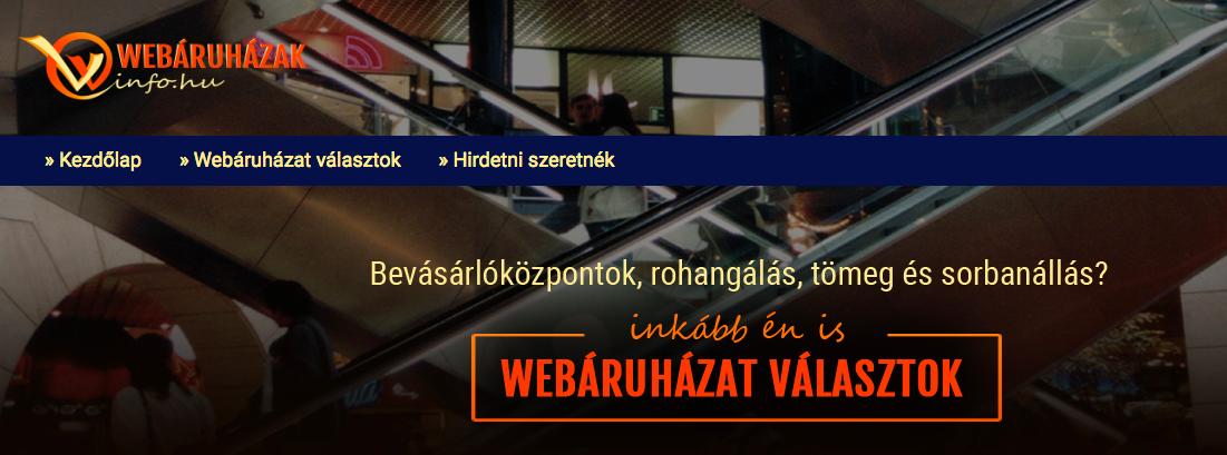 webáruházak.info